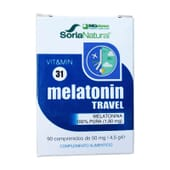Vit & Min 31 Melatonin Travel 90 Tabs de Soria Natural
