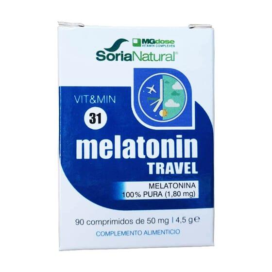 Vit & Min 31 Melatonin Travel 90 Tabs da Soria Natural