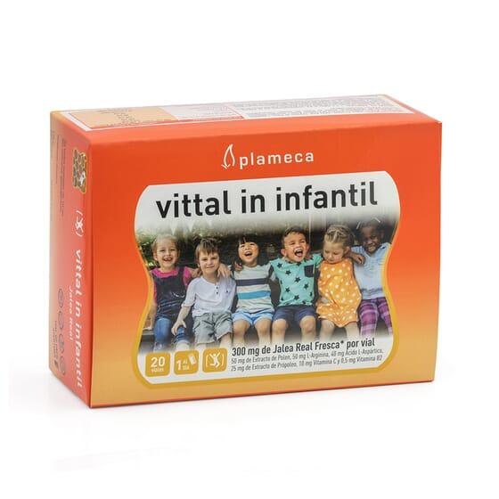 VITTAL IN INFANTIL 20 Frascos x 10ml da Plameca.