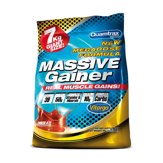 MASSIVE GAINER 7 Kg - QUAMTRAX NUTRITION