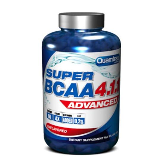 Super Bcaa Advanced 4.1.1 - 200 Tabs da Quamtrax