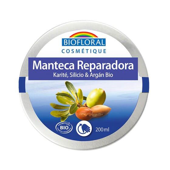 MANTECA DE KARITÉ CON SILICIO Y ARGÁN 200 ml de Biofloral
