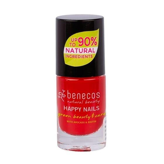 Laca De Unhas Vintage Red 5 ml de Benecos