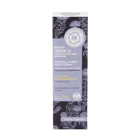 Creme De Noite Pele Sensível Proteção E Regenração  50 ml de Natura Siberica