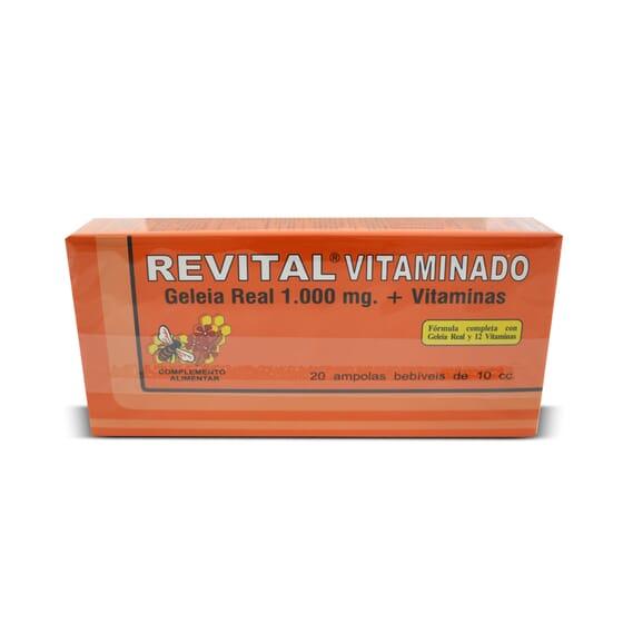 Revital Vitaminado 20 x 10 ml da Revital