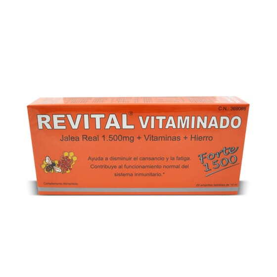 Revital Vitaminado Forte 1500 - 20 x 10 ml da Revital