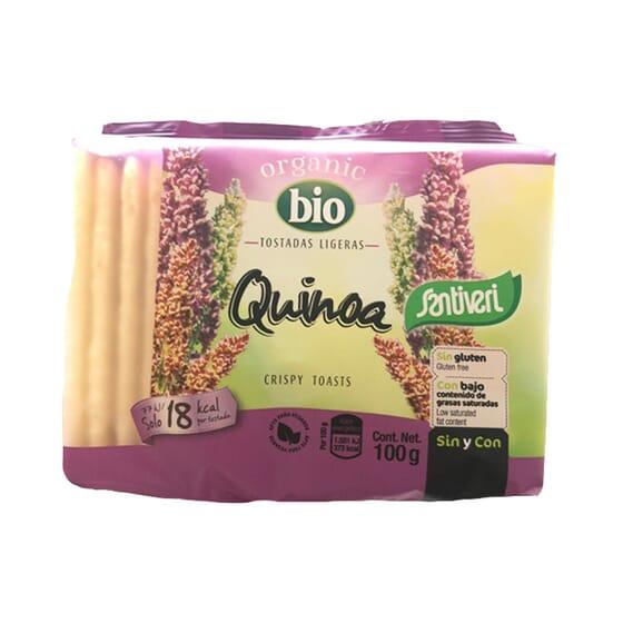 Tostadas Ligeras Quinoa Bio 100g de Santiveri