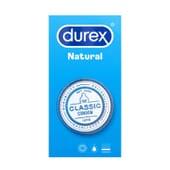 Durex Natural Classic 6 Unités de Durex
