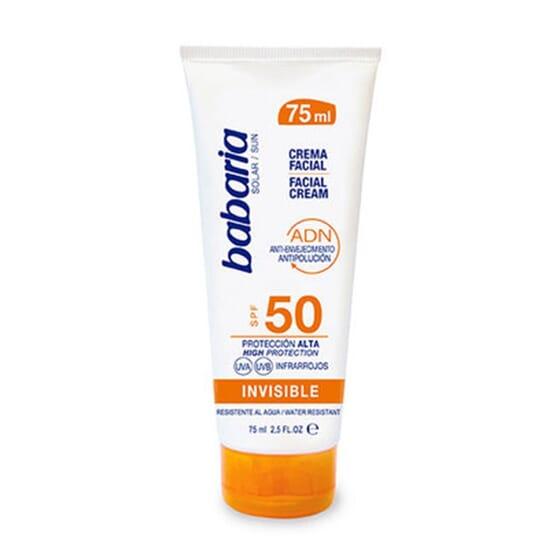 Solar Creme Facial Invisível SPF50 75 ml da Babaria