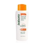 Solar Leite Protetor Peles Sensíveis SPF50+ 200 ml da Babaria