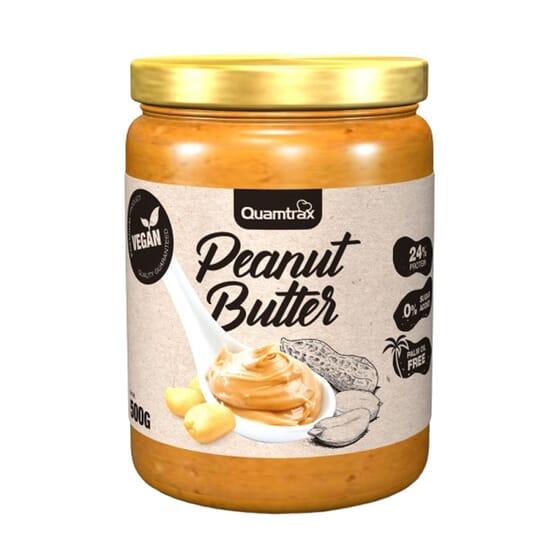 BEURRE DE CACAHUÈTE 500 g de Quamtrax