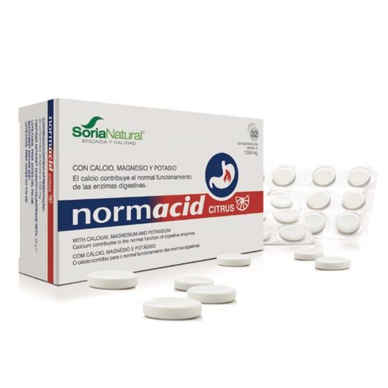 Normacid Citrus 20 Tabs de Soria Natural