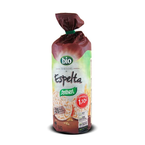 Tortitas De Espelta Bio 13 x 7,7g de Santiveri