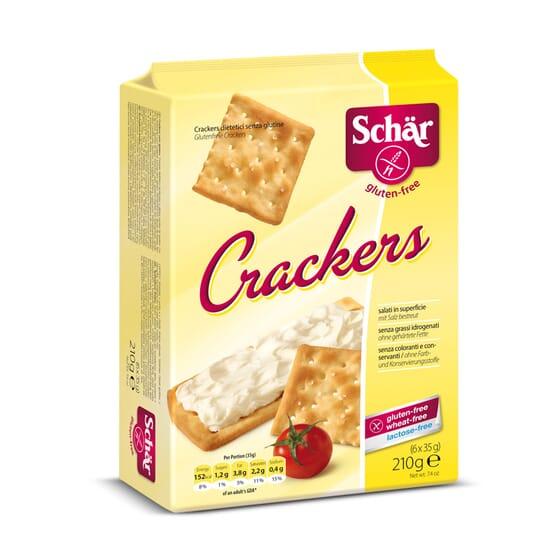 Crackers Sem Glúten 210g da Schar