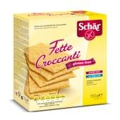 Fette Croccanti rebanadas Crujientes Sin Gluten 150g de Schar
