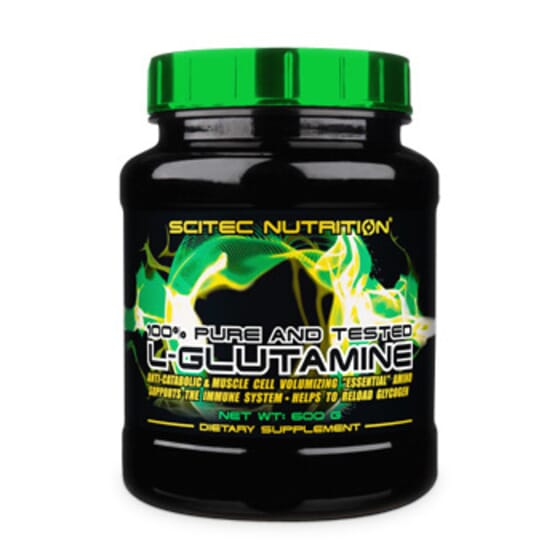 100 % L-GLUTAMINE 300 g - SCITEC NUTRITION