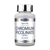Chromium Picolinate 200mcg 100 Tabs de Scitec Essentials