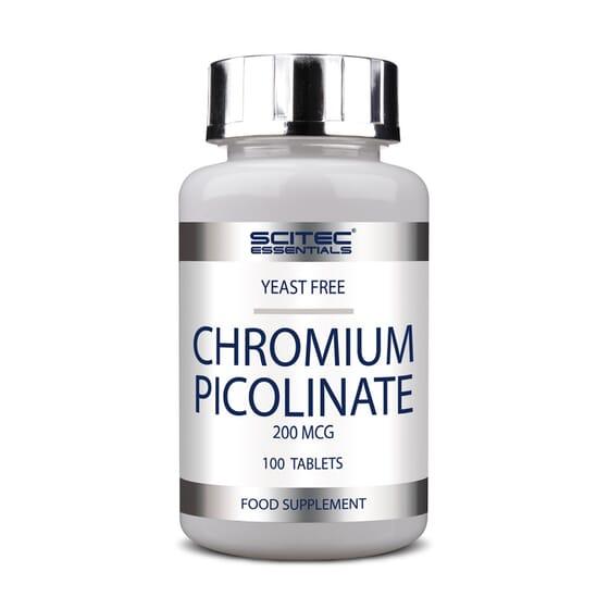 Chromium Picolinate 200Mcg 100 Tabs da Scitec Essentials