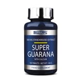 Super Guarana 100 Tabs da Scitec Essentials