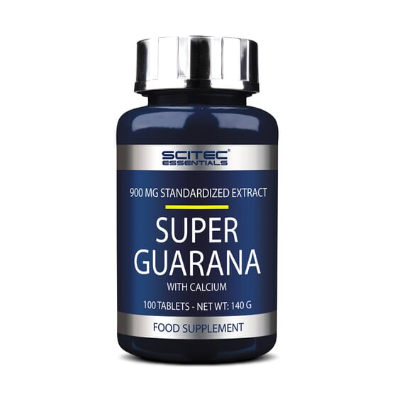 Super Guarana 100 Tabs da Scitec Essentials