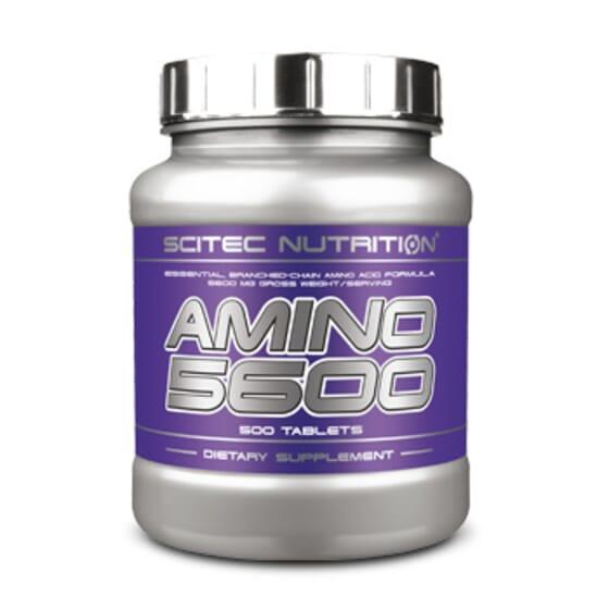 Amino 5600 - 500 Tabs da Scitec