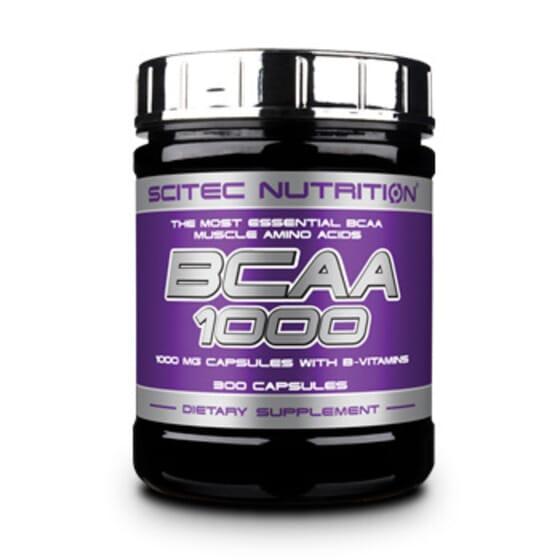 BCAA 1000 - 300 Gélules - SCITEC NUTRITION