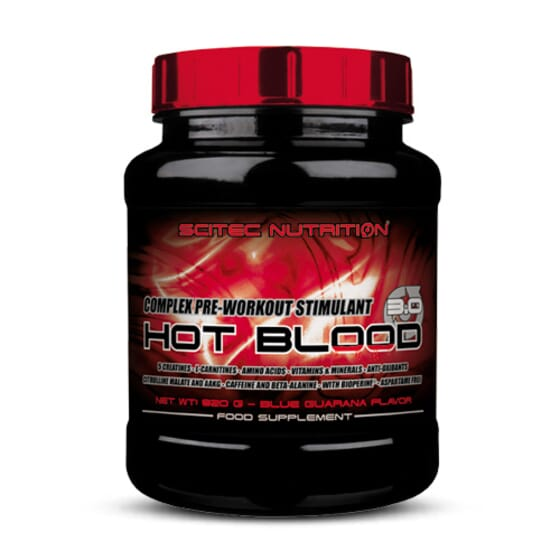 HOT BLOOD 3.0 820g de Scitec