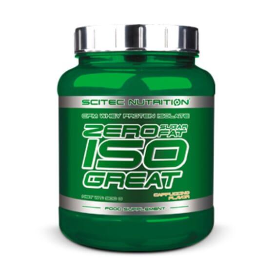 Zero Sugar / Zero Fat Isogreat 900g de Scitec