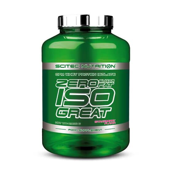 Zero Sugar / Zero Fat Isogreat 2,3kg de Scitec