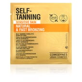 COMODYNES SELF-TANNING NATURAL AND FAST BRONZING SENSITIVE SKIN 8 Toallitas