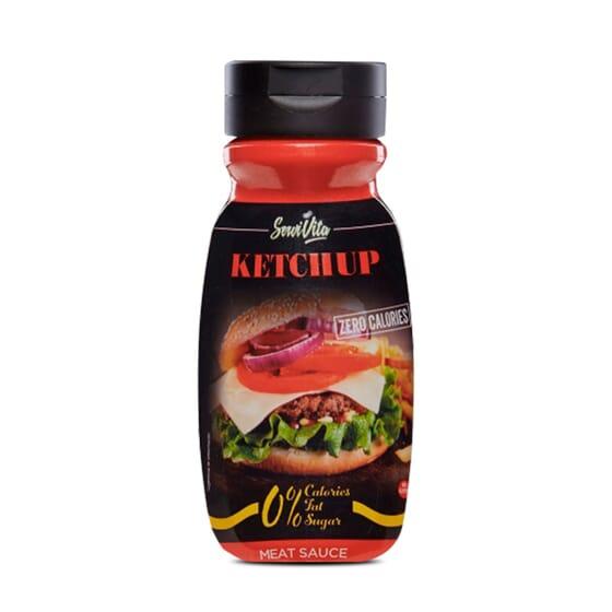 Ketchup Servivita bajo en calorías, comida sana