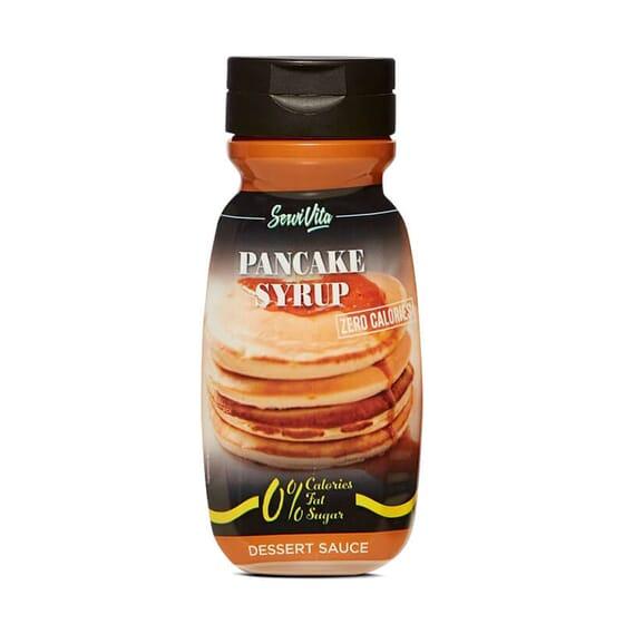 Sirope Pancake Servivita bajo en calorías ideal para tus tortita