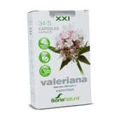 34-S Valeriana XXI 30 Capsule di Soria Natural