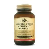 BILBERRY GINKGO - Solgar - Antioxidantes para cuidar la vista