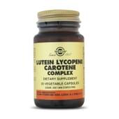 LUTEIN LYCOPENE CAROTENE COMPLEX - SOLGAR