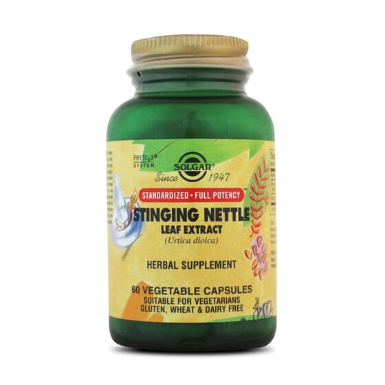 Stinging Nettle Leaf Extract 60 Vcaps da Solgar