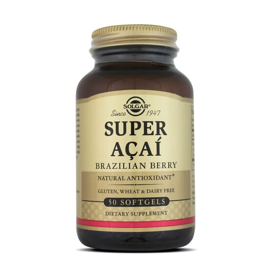 SUPER ACAÍ EXTRACTO DE BAYA DE BRASIL - Solgar