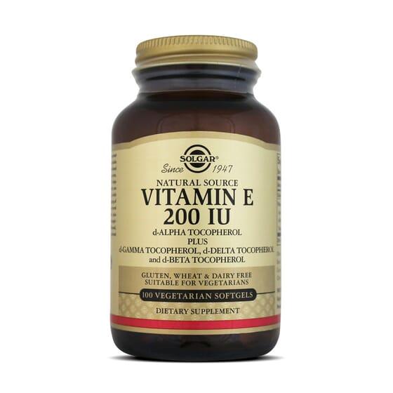 Antioxidantes en forma de vitamina E de Solgar