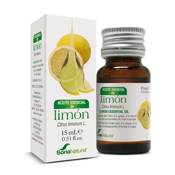 ACEITE ESENCIAL DE LIMON 15ml - SORIA NATURAL