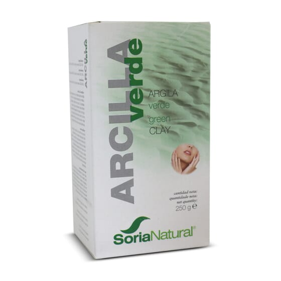 Argila Verde 250g da Soria Natural
