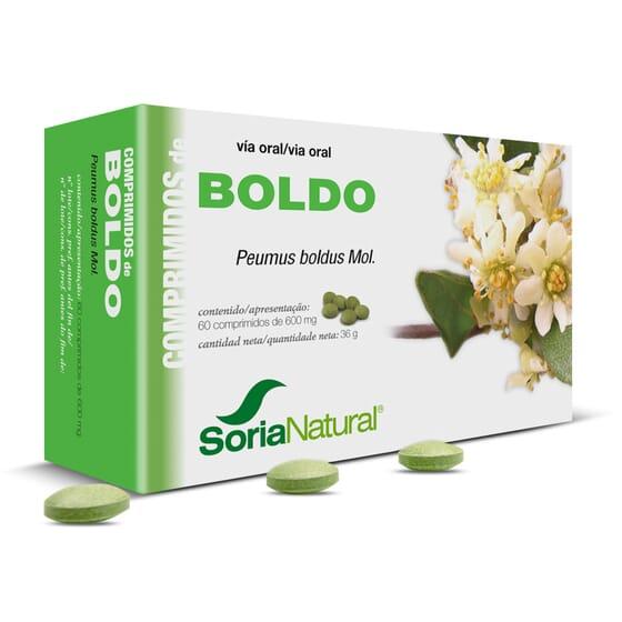 Comprimidos - Boldo 60 Tabs de Soria Natural