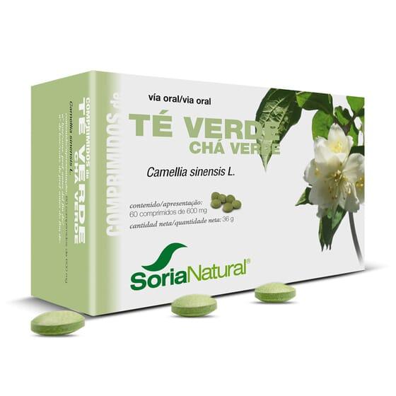 Comprimidos - Chá Verde 60 Tabs da Soria Natural