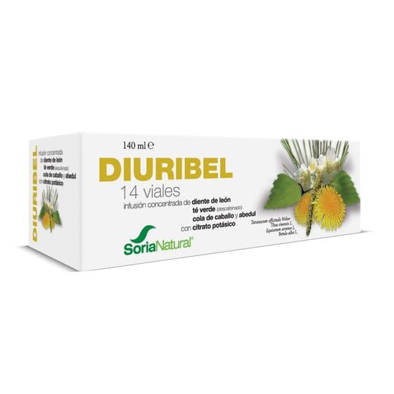 Diuribel 14 x 10ml de Soria Natural