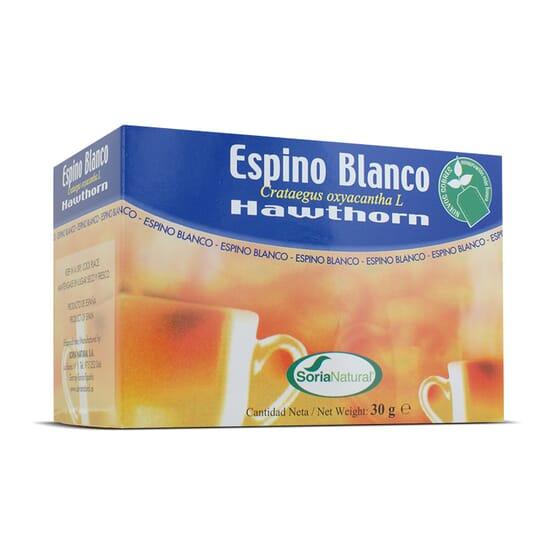 Infusión - Espino Blanco 20 Infusiones de Soria Natural