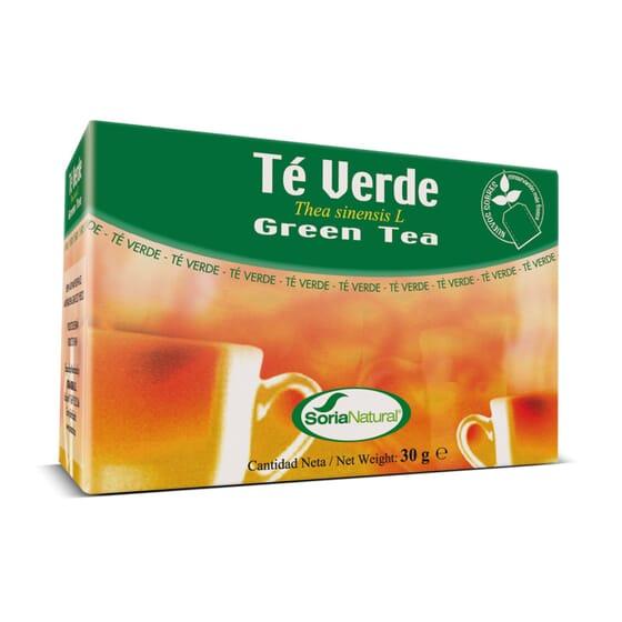 Infusão - Chá Verde 20 Infusões da Soria Natural