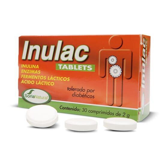 Inulac Tablets 30 Tabs de Soria Natural