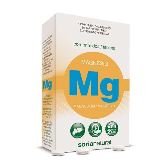 Magnesio 30 Tabs de Soria Natural
