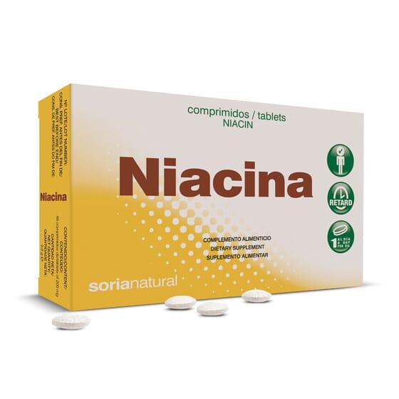 Niacina 48 Tabs da Soria Natural