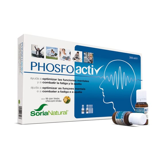 PHOSFO-ACTIV 20 x 15ml - SORIA NATURAL