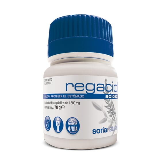 Regacid 60 Tabs da Soria Natural